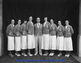 Edmonton Grads - 1936 Olympic Team