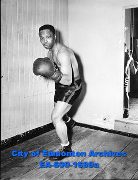 Ed Bolo Halligan, boxer to fight Roddy McDonald.