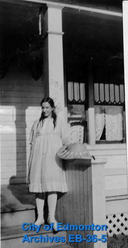 Young Girl on a Porch