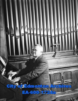 Gedeon Pepin, organist and repairman.