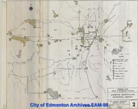 General Plan, Parks and Recreation Chapter, Edmonton Metropolitan Recreation District, Drawing 2
