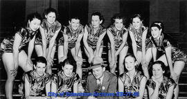 Tulsa Business College Stenos - National A.A.U. Basketball Champions 1934, 1935, 1936