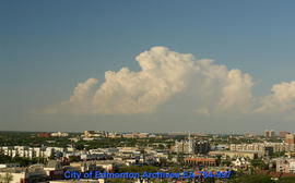 Cloud Over Downtown - Image 1 of 2