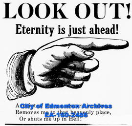 "Propaganda, ""Look Out! Eternity is Just Ahead!"""