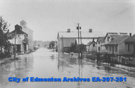 1915 Flood in Rossdale Flats