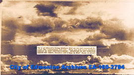 "Clouds and Lamentations 3: 22-24, ""It is of Jehovah's loving kindness ..."""