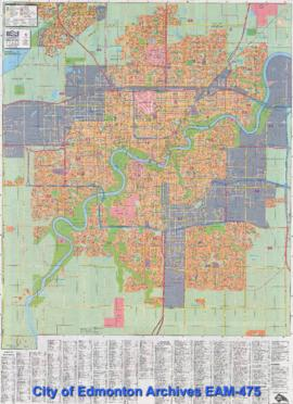 Map of Edmonton and Area Communities