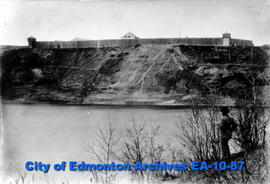 Fort Edmonton from South Side