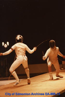 Universiade '83 - Fencing Match