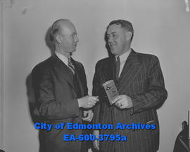 Alberta Dairymen's Convention. G.M. Carlyle and J. Eabet.