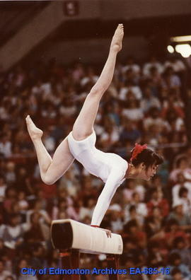 Universiade '83 - Japan's Wen Jia