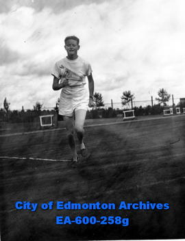 Canadian Track and Field Championships at Clarke Stadium: Margery Coutts, runner.