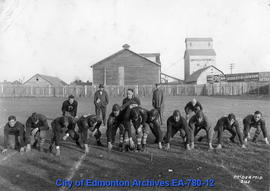 Edmonton Eskimos Football Team