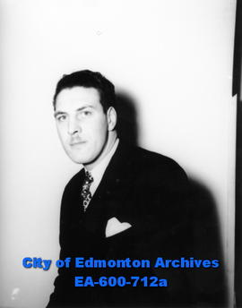 Duncan McLean, member of the Edmonton police force recently promoted from constable to detective.