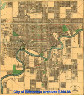 Driscoll & Knight's Map of the City of Edmonton Province of Alberta