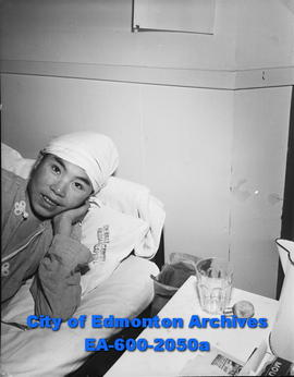 Eskimo boy, Kayoomyk, is a survivor of plague stricken Eskimo village of Cresswell