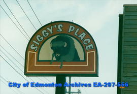 Siggy's Place - sign