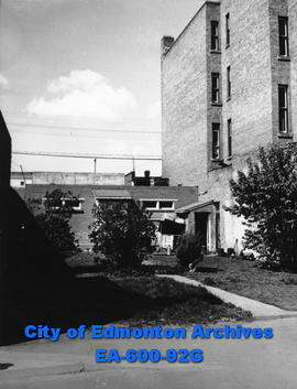 Dormitory, exterior, of Bonnie Doon Eventide Home, Salvation Army Men's Hostel, Edmonton.