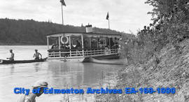 Excursion Boat to Ft. Saskatchewan
