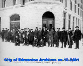 Old Timers in Alberta Before 1885