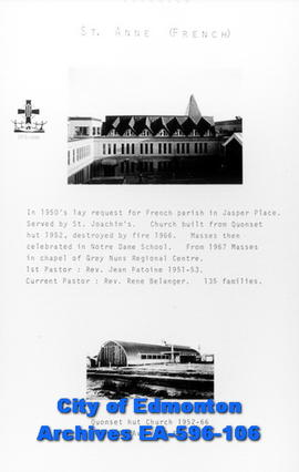 St. Anne Catholic Church Poster