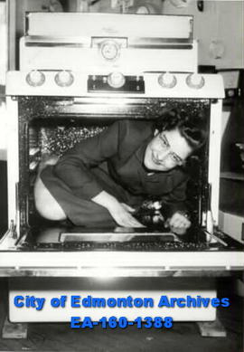Woman in Oven