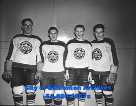 Four players from Edmonton Juniors; Waterloo Maple Leafs.