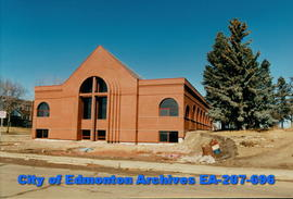 Concordia Lutheran Seminary - soon after construction - south and east faces
