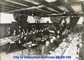 51st Battalion At Edmonton Armoury
