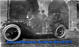 Edmonton Fire Dept.-Fire Chief's Car