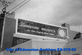 Sign - Johnstone Walker