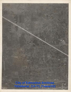 1924 Aerial Section 73, Frame 102