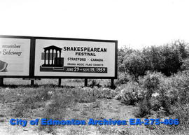 Sign - Shakespearean Festival