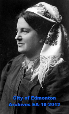 Emily Murphy in Ruthenian Headdress