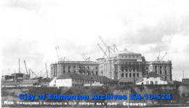 Parliament Buildings & Old Hudson's Bay Fort