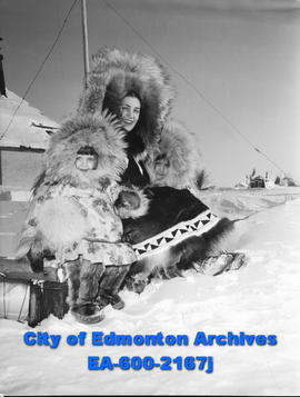 Women's Page - Eskimo Feature: Manning Family Love Their Arctic Home