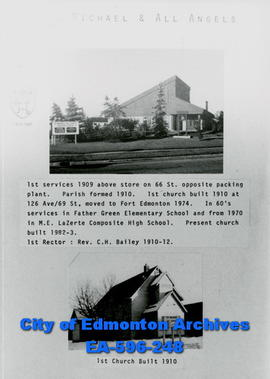 St. Michael and All Angels Anglican Church Poster