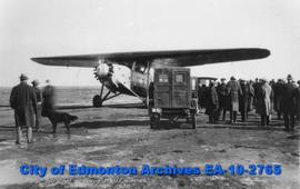First Prairie Mail Flight