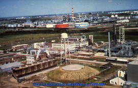 C-I-L plant with Imperial Oil's Strathcona Refinery in background