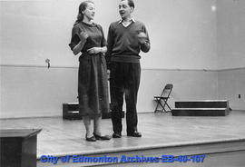 Rehearsal for  'The Lass of Limerick Town'