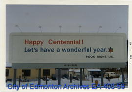 Hook Signs Ltd. Centennial billboard