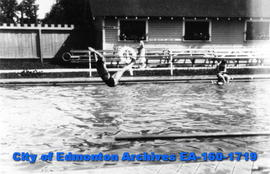 Unknown Diver at Borden Park Swimming Pool