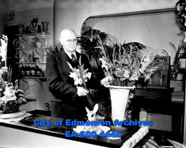 Walter Ramsay, Edmonton florist and first principal of Queen's Avenue School.