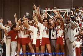 Universiade '83 - Canada's Men's Basketball Team - Gold Medal
