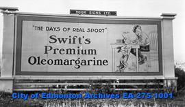Sign - Swift's Premium Oleomargarine