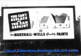 Sign - Marshall-Wells Paints