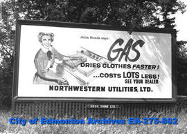 Sign - Northwestern Utilities
