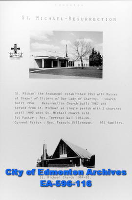 St. Michael Resurrection Catholic Church Poster