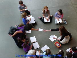School Group at Art Gallery of Alberta - Image 1 of 5