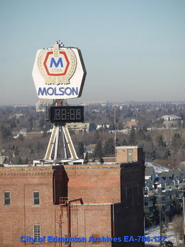 Top Of Molson's Building
